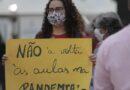 Brasile. I professori della rete statale di San Paolo approvano lo sciopero contro il ritorno in presenza alle lezioni