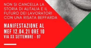 Roma, 12-14-16 aprile, manifestazioni al Mef, al Mise e al Campidoglio
