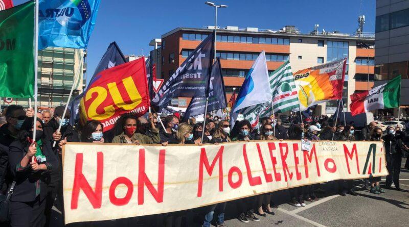 Alitalia: tutti i comunicati di solidarietà